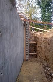 poured concrete walls by n r coppard