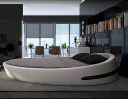 Modern Hot Sale Genuine Leather Round Bed B71