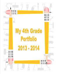 Student Portfolios Student Portfolio Cover Page Student Portfolios Student