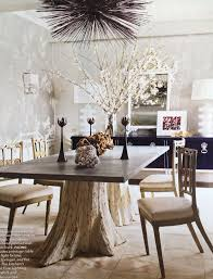 decor live provide you best furnished dining table and ideas for your dining mesa con pie de troncos más