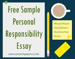 how do you write a word essay on responsibility this essay on personal responsibility essay