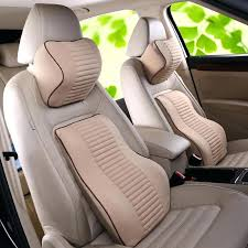 car seats back supports for car seats memory foam support lumbar seat holder a set