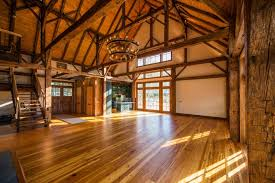 Barn Turned Into Houses With Wooden Floor With Modern Nuance, And Also  Materials Of The Natural House Design Using Wooden As The Main Materials,  ...