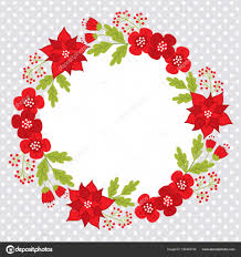 Vektor Weihnachten Und Neujahr Card Template Mit Einem