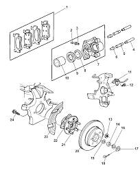 Brakes front for 1999 dodge durango mopar parts giant rh moparpartsgiant dodge dakota brake system