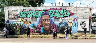 Art alum collaborates on George Floyd mural in Houston's Third Ward | UTSA  Today | UTSA | The University of Texas at San Antonio