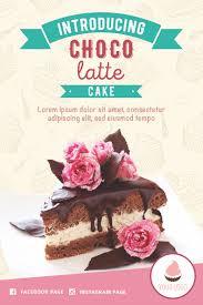 Chocolate Cake Slice Tent Card