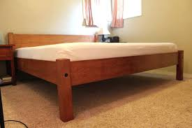 homemade platform bed to build a king size bed frame bed frame with storage queen easy homemade platform bed