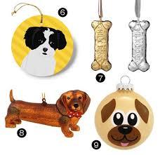 20 Modern Dog-Themed Christmas Ornaments