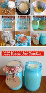 fun diy mason jar candles
