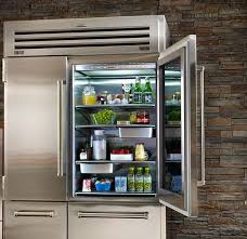 sub zero glass door fridge sub zero interior view clear glass door refrigerator residential