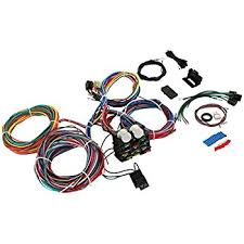 amazon com wisamic 10 circuit basic wiring harness fuse box street 86 Chevy Truck Wiring Diagram at Haywire Pro T Wiring Diagram