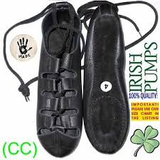 Details About Brand New Irish Dance Shoes Dancing Leather Comfort Reel Pumps Jig Ghillie Cc