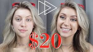 20 makeup challenge tutorial flawless results