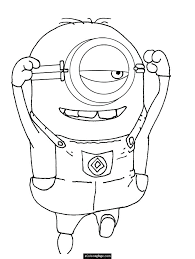 Minions Coloring Pages Pdf Minion Colouring Book Printable Coloring