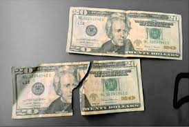 a suious 20 bill brought police to
