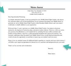 11412 Cover Letter Exles For Math Teachers Math Recommendation