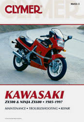 kawasaki motorcycle manuals diy repair manuals clymer kawasaki zx500 ninja zx600 motorcycle 1985 1997 service repair manual