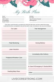 Birth Plan For C Section Template 008 Printable Birth Plan Template Awesome Ideas Pdf Uk