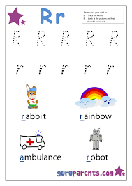 Letter R Worksheets | guruparents