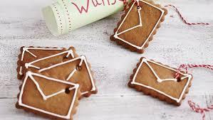 Lebkuchen Briefe Leckere Post Für Den Weihnachtsmann