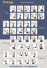 Power Plate Wall Chart Poster Vibration Plate Exercises