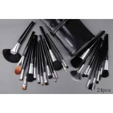 24 pcs professional mac makeup brush set women brushes