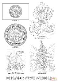 Small Picture Nebraska State Symbols coloring page Free Printable Coloring Pages