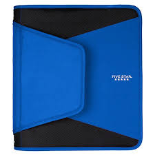 1 5 Binder Five Star 1 5 Inch Zipper Binder With Expanding File 1 5 Inch Assorted