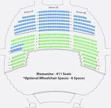 True To Life Texas Performing Arts Seating Chart 2019