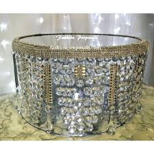crystal cake stands bling crystal cake stand crystal wedding cake stand with for incredible home chandelier