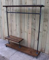 free standing clothes rack. Endearing Freestanding Clothing Rack Of Best Reclaimed Wood Garment Free Standing Clothes A