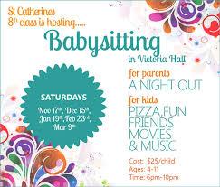 Babysitting Ads Babysitter Flyer 15 Cool Babysitting Flyers Printaholic Diff