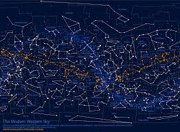 map geek constellation charts at  roundtripticketme