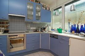blue kitchen designs. Brilliant Kitchen You Will Note Each Kitchen Has A Personalized Touch That Merges Together  With Its Surrounding For Dynamic Blue Design To Blue Kitchen Designs