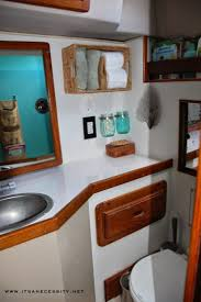 It's a Necessity. Houseboat IdeasShelf IdeasSailboat InteriorSailboat  DecorBoat ...