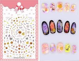 Happy Design Nails Hours Amazon Com Cartoon Patterns 1 Sheet Nails Art Manicure Back