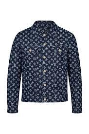 ready to wear coats and outerwear monogram denim jacket louis vuitton