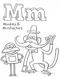 Small Picture Mustache Coloring Pages Free Coloring Pages