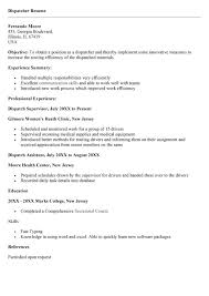 Best Photos Of Dispatcher Resume Templates Dispatcher Resume