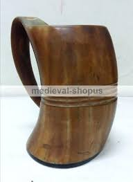 viking beer mug save this item for viewing later view larger image drinking horn meval wooden