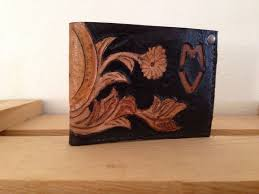 picture of make a custom leather wallet free pattern