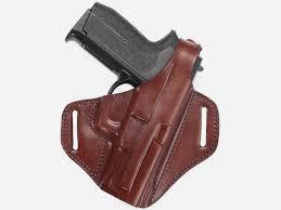 comfortable leather belt holster