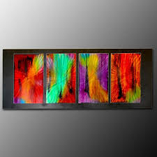 colorful metal paintings herbst wall art with regard to large decor 8 on colorful metal wall art decor with colorful metal paintings herbst wall art with regard to large decor