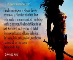 Wonder Woman Quotes Interesting The Romantic Wonder Woman Quote Share With The Wonder Woman In Your