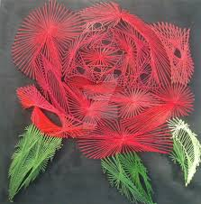 String Art String Art Rose By Curiousg30rge On Deviantart