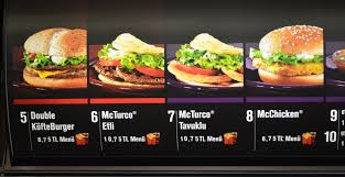 mcdonald s menu 2014. Perfect Mcdonald The McTurco Looked Edible Enough In The Pictures On Mcdonald S Menu 2014 B