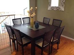 square dining table design architecture round dining room tables seats 8 table regarding for plan outdoor