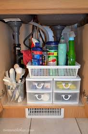 Drawers under your kitchen sink, instead of cupboards - More storage space  and better organization