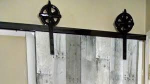 Barn Doors diy sliding barn doors photographs : On The Fly...DIY' Sliding Barn Door - YouTube